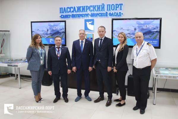 A Helsinki Port Delegation Visited the Passenger Port of Saint Petersburg